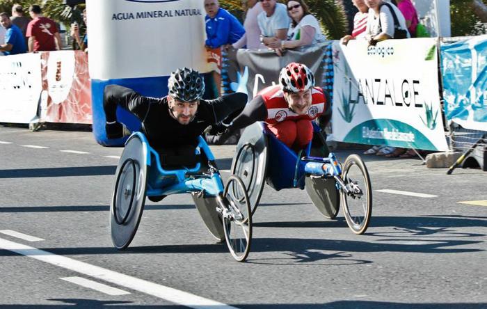 El atleta catalán Jordi Madera durante una competición.