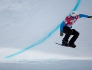 Lucas Eguíbar, plata en el Mundial júnior de snowboardcross