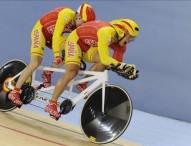 Un oro y un bronce como broche al Mundial de ciclismo en pista
