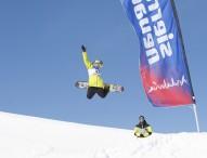 Pau Bartolo y María Hidalgo, campeones de España de Snowboard en Slope Style