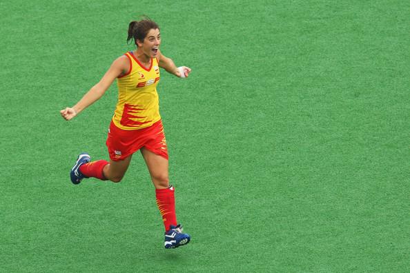 La jugadora y capitana de la selección española Rocío Ybarra.