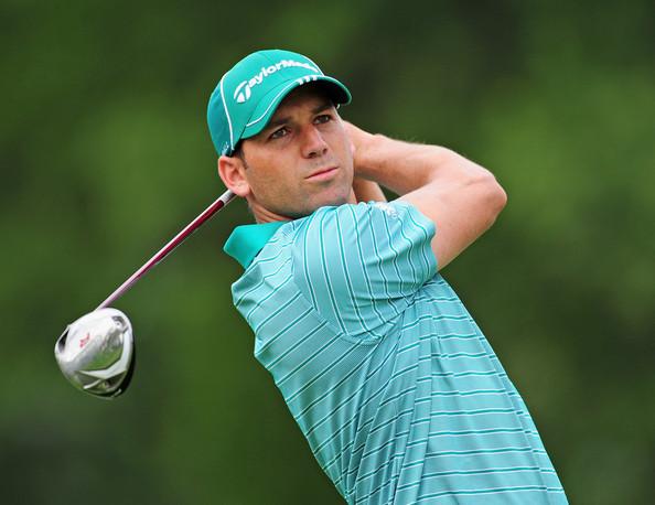 El golfista español Sergio García. Fuente: Getty Images