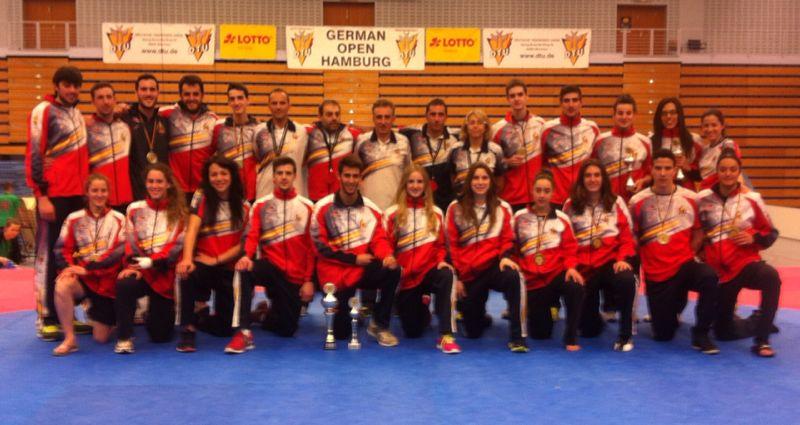 taekwondo open alemania