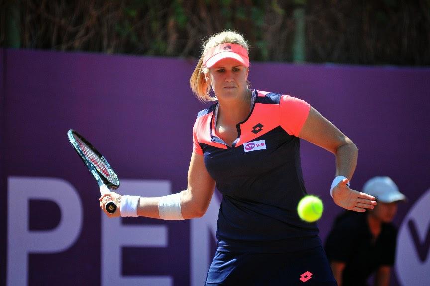 La tenista alicantina Tita Torró vence en el torneo de Marraquech.