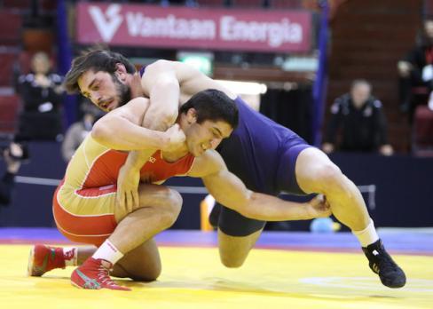 lucha olímpica taimurav friev