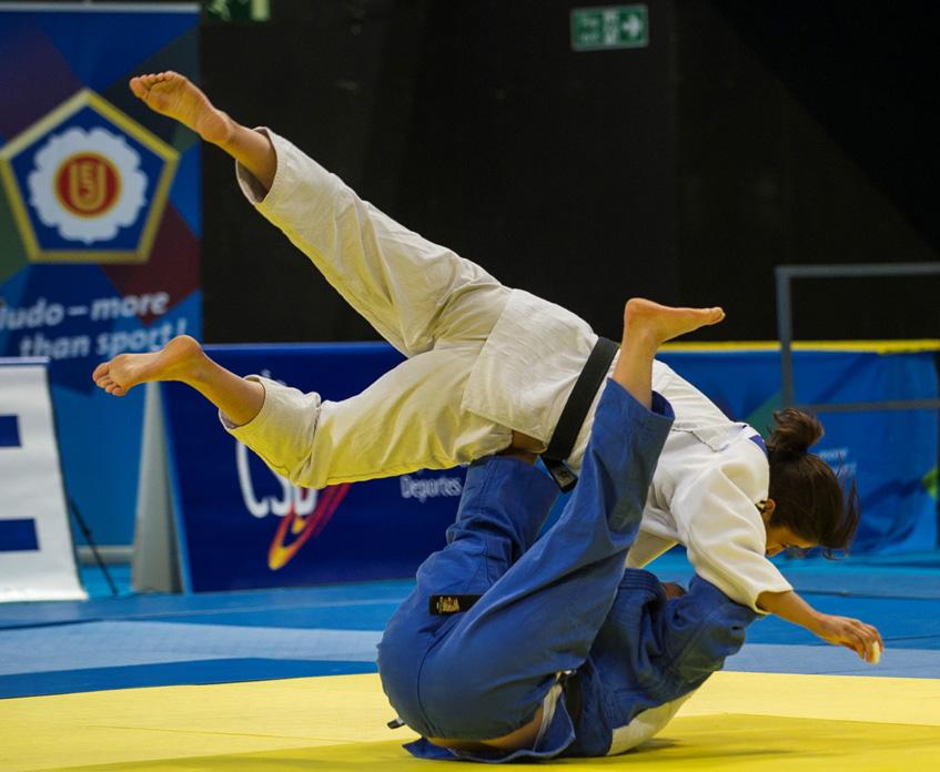 Una de las judokas españolas en el Open Europeo de Madrid 2013. Fuente: RFEJ