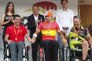 Vicente Yangüez, Martín Berchesi y Javier Reja. Fuente: RFEC