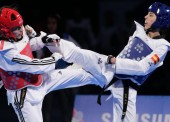 Eva Calvo, campeona de Europa en -57 kilos