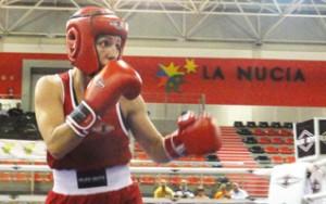 La boxeadora Eva Naranjo.