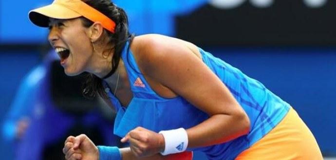 garbiñe muguruza tenis femenino roland garros 2014