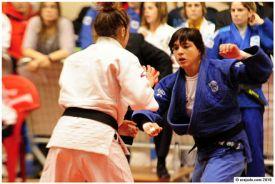La judoca cordobesa Julia Figueroa.