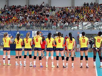seleccion femenina de voleibol