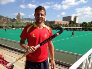 El capitán de los 'redsticks' Santi Freixa. Fuente: RFEH