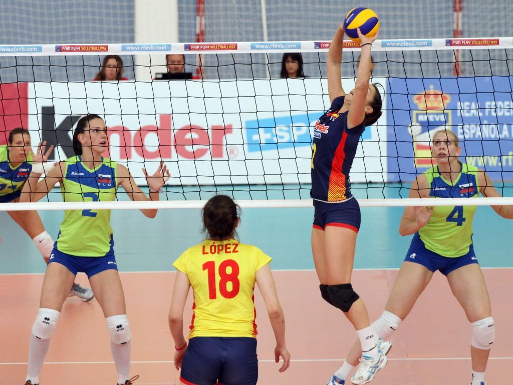 seleccion femenina preeuropeo 2014 voleibol