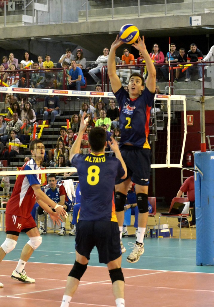 seleccion masculina preeuropeo de voleibol 2014 mayo 24