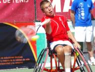 Martín de la Puente, campeón de España en tenis silla ruedas