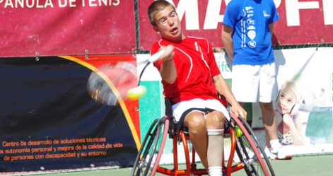 El joven tenista Martín de la Puente. Fuente: RFET