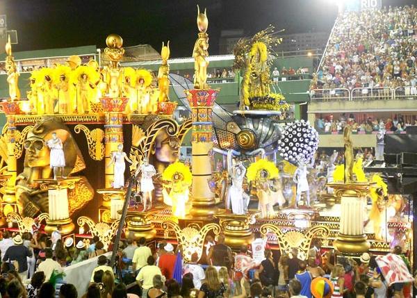 Imagen del carnaval de Sao Paulo en Brasil Fuente: AD