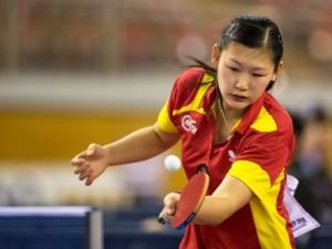 María Xiao, campeona de España.