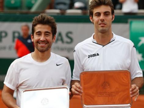 Marcel Granollers y Marc López. Fuente: RFET