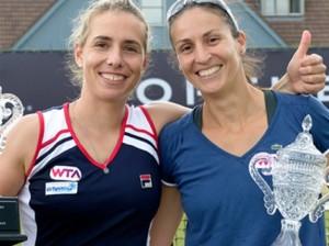 Marina Erakovic y Aratxa Parra. Fuente: RFET