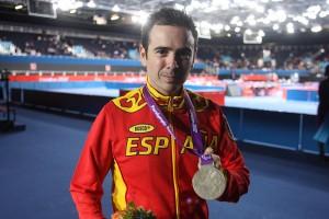 Valera, con su oro en  Londres 2012.