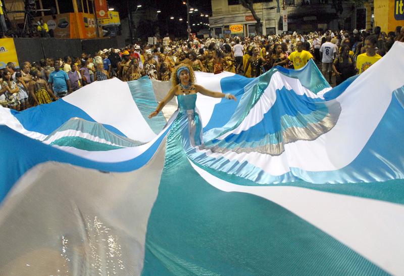 Imágenes del carnaval del Salvador. Fuente: AD