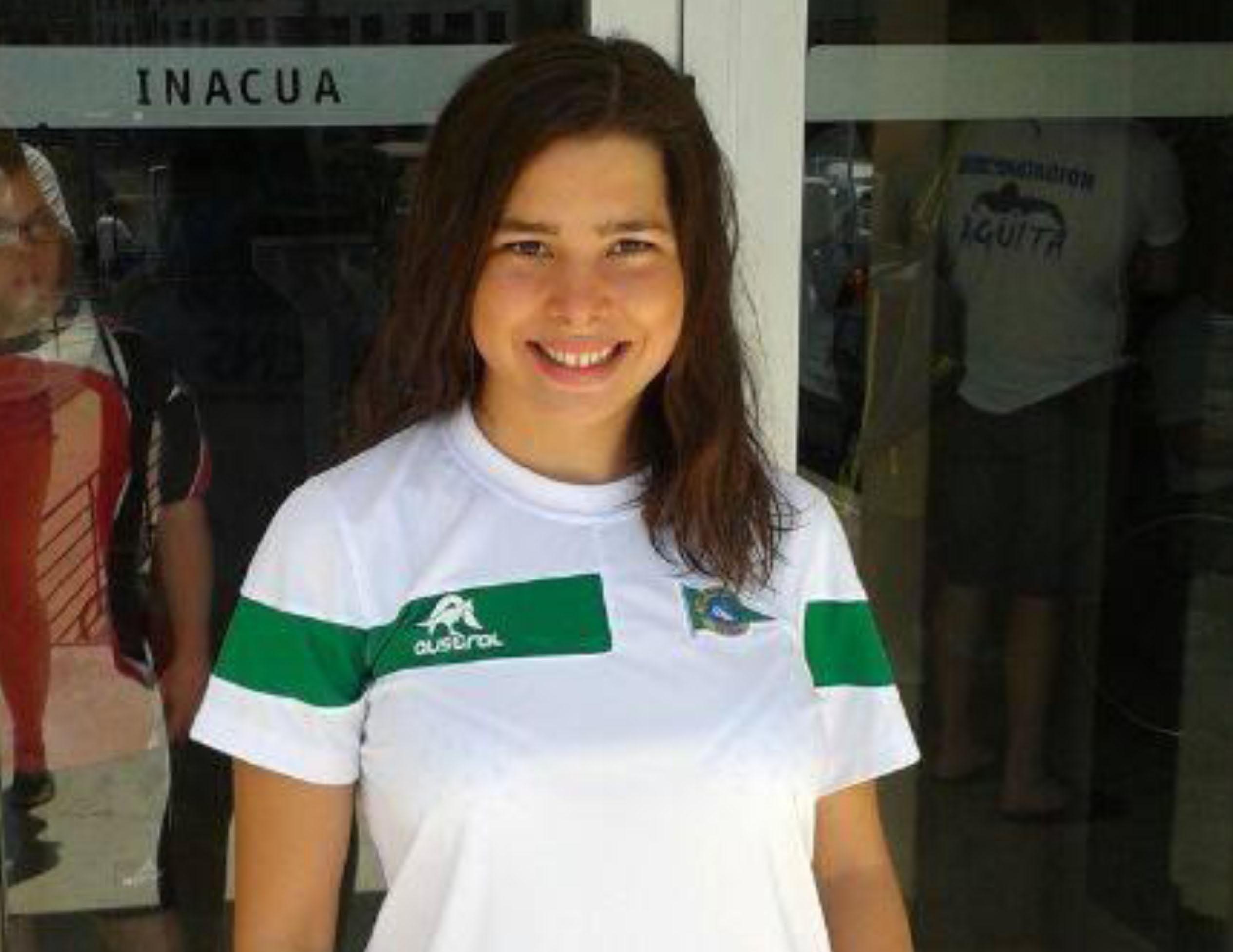 Casilda Lantero, nadadora del Club Náutico Sevilla. Fuente: AD