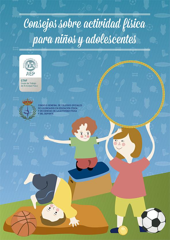 Imagen Consejos actividad fisica niños y adolescentes