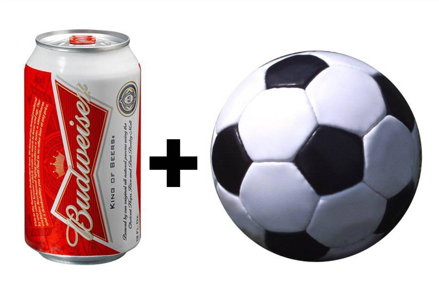Este año la FIFA  permite la venta de cerveza en los estadios y el consumo de la misma durante los partidos. Fuente: AD