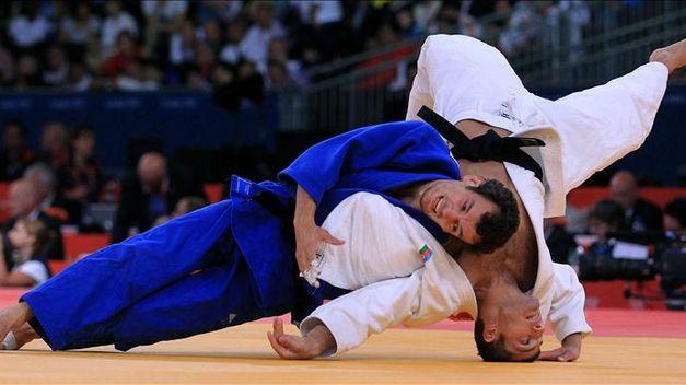 El judoca Sugoi Uriarte peleando en los Juegos Olímpicos de Londres, 2012. Fuente: AD