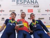 Valverde y Leire Olaberría, campeones contrarreloj en Ponferrada