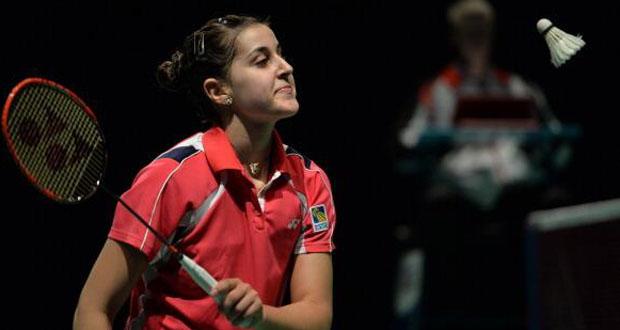 La jugadora de bádminton Carolina Ruiz en el Superseries de Australia. Fuente: badminton.es