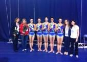 Plata y bronce para el equipo español de gimnasia rítmica
