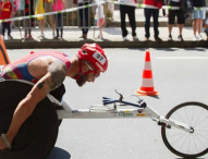 El atleta Rafa Botello inicia su gira americana