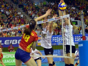 voleibol femenino liga europea españa alemania junio 20 2014