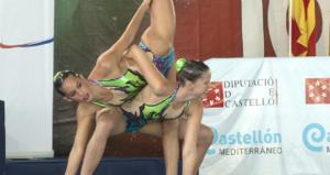 Ona Carbonell y Paula Klamburg en Castellón. Fuente: RFEN