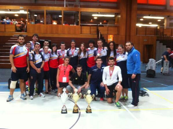 El equipo español de taewkdondo que ha participado en el Open de Suiza. Fuente: Fetaekwondo