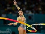 Carolina Rodríguez, en la final absoluta y de cinta