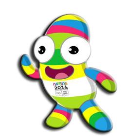 nanjing 2014 mascota