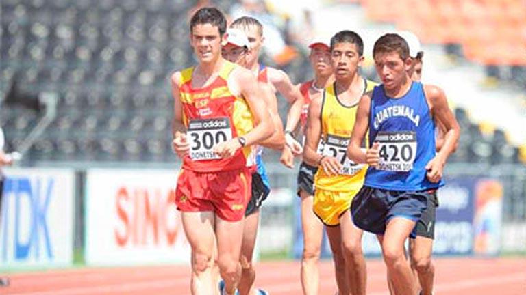 El corredor del A.D Marathon se ha proclamado subcampeón del Mundo Júnior. Fuente: AD