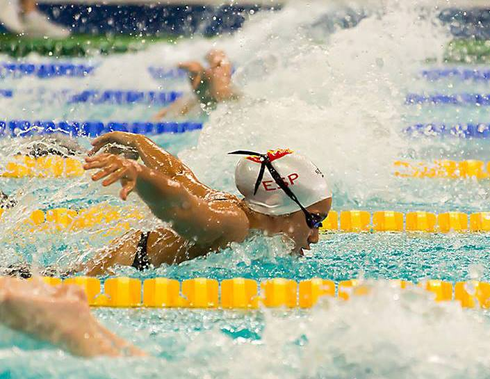 África Zamorano ha conseguido la medalla de oro en el Europeo Júnior de Dordrecht (Holanda).