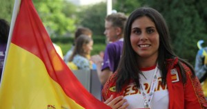 La judoka Sara Rodríguez. Fuente: AD