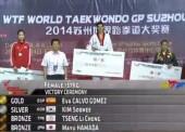Eva Calvo logra el oro en Suzhou
