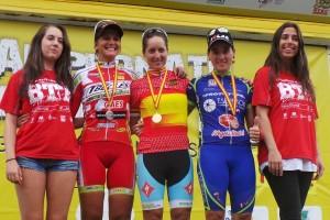 Rocío Martín, campeona de España. Fuente: RFEC