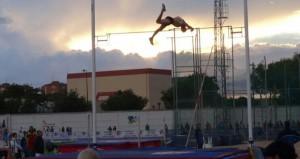 Noel del Cerro saltando. Fuente: AD