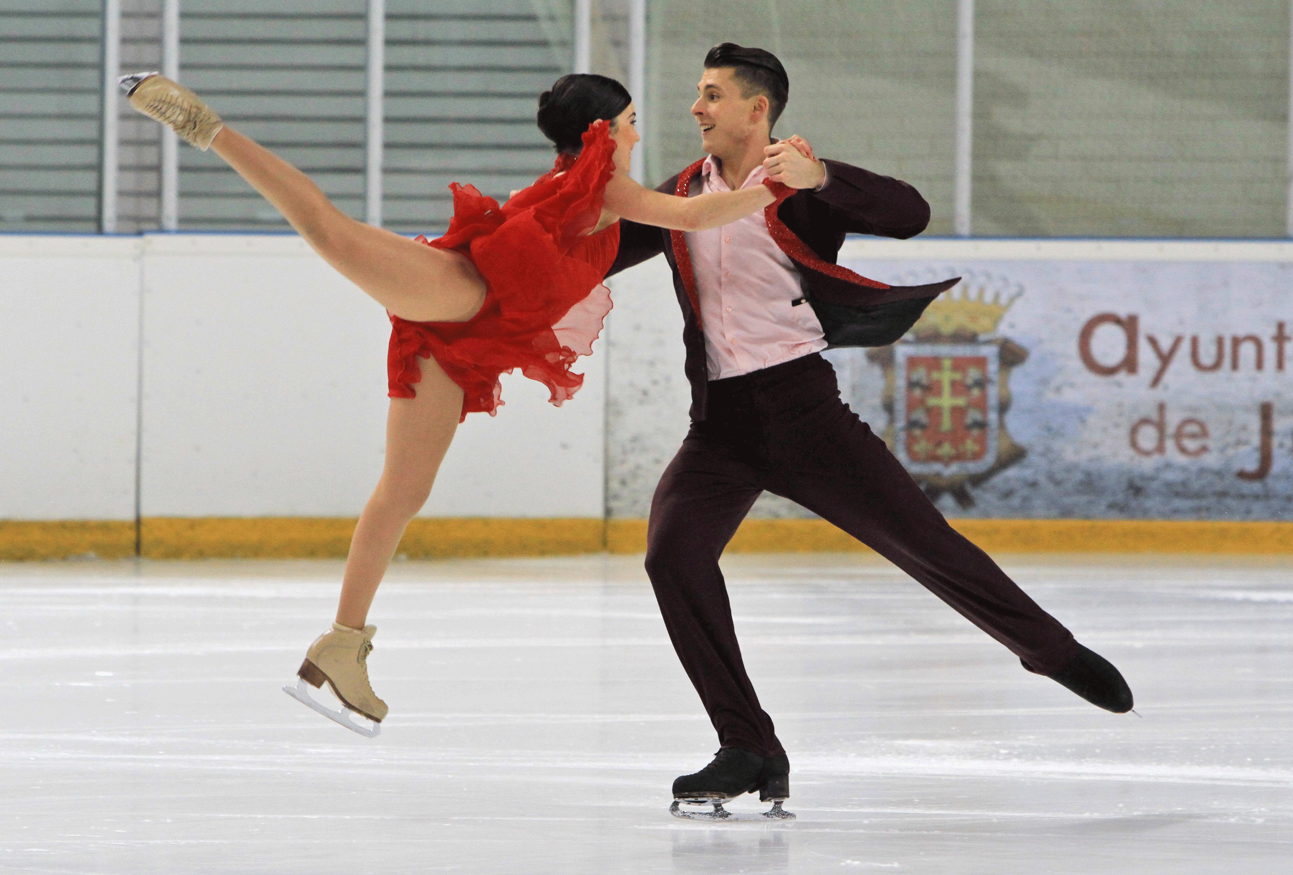 La pareja internacional se marcha a Montreal a entrenar. Fuente: AD