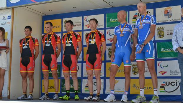 Segovia acoge los días 25, 26 y 27 de julio la Copa del Mundo de Ciclismo Adaptado. Fuente: AD
