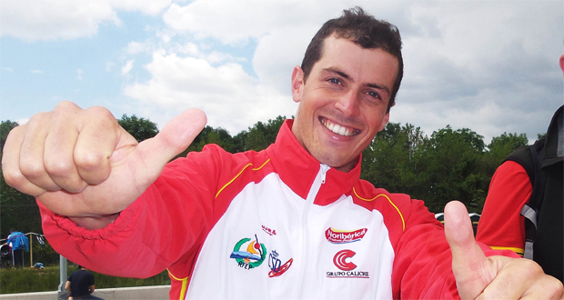 El piragüista olímpico Samuel Hernanz participará en K1 masculino en la Copa del Mundo de Slalom. Fuente: RFEP