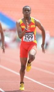 Aitor Ekobo en carrera. Fuente: AD